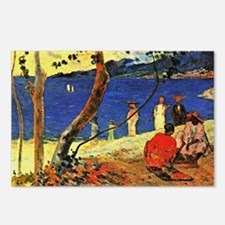 Gauguin - A Seashore Postcards (Package of 8)