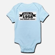 made in 1958 born Body Suit