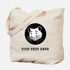 Personalized Hamster Tote Bag