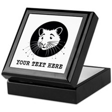 Personalized Hamster Keepsake Box