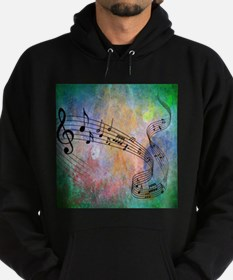 Abstract Music Hoodie (dark)
