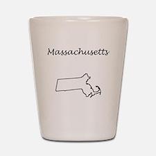 Massachusetts Shot Glass