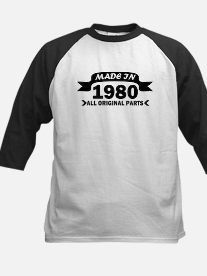 made in 1980 born Baseball Jersey