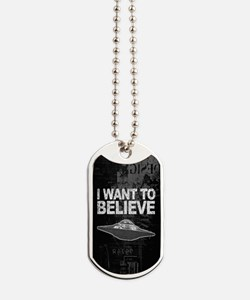 I want to Believe Dog Tags