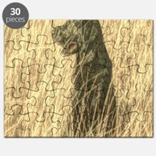 rustic country farm dog Puzzle