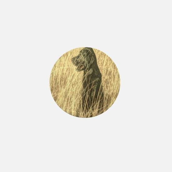 rustic country farm dog Mini Button
