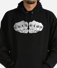 UCF Charge On Knuckles White Design Hoodie