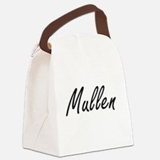 Mullen surname artistic design Canvas Lunch Bag