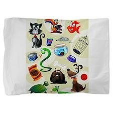 3-kid art.jpg Pillow Sham