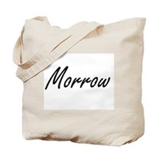 Morrow surname artistic design Tote Bag