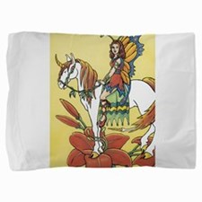 Fairy and Horse Pillow Sham
