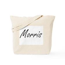 Morris surname artistic design Tote Bag