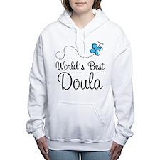 Worlds Best Doula Women's Hooded Sweatshirt