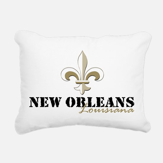 Funny New orleans Rectangular Canvas Pillow