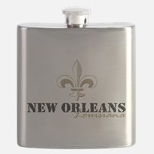 Cute New orleans Flask