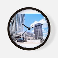 Trans Am Skyline Wall Clock