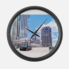 Trans Am Skyline Large Wall Clock