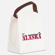 Moving to Alaska 2 Canvas Lunch Bag