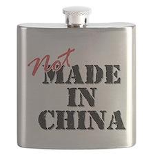 Cute Made in usa Flask
