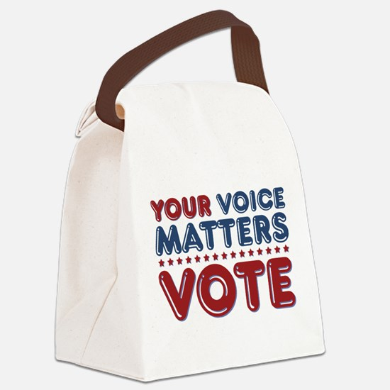 Cute Election Canvas Lunch Bag