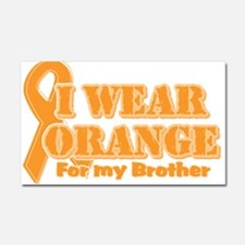 Cute Multiple sclerosis walk in my shoes Car Magnet 20 x 12