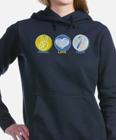 Unique Downsize Women's Hooded Sweatshirt