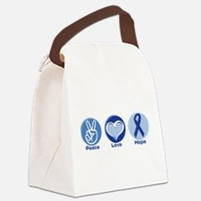 Funny Prostate cancer awareness Canvas Lunch Bag