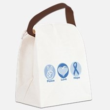 Unique Prostate cancer awareness Canvas Lunch Bag