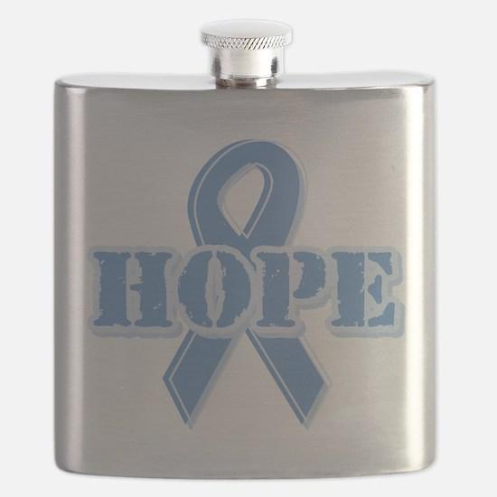 Funny Thyroid cancer survivor Flask