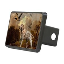 duck hunter hunting dog Hitch Cover