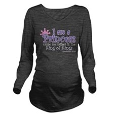 Funny God Long Sleeve Maternity T-Shirt