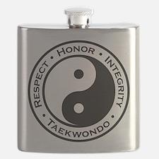 Respect Honor Integrity TKD Flask