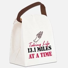 Taking Life 13.1 miles Canvas Lunch Bag