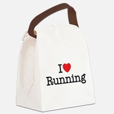 Cute Track and field Canvas Lunch Bag