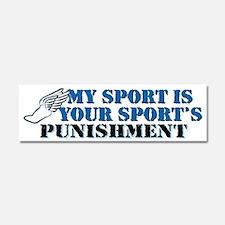 Running - Punishment Car Magnet 10 x 3