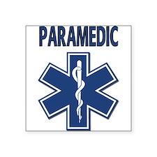 """Cute Paramedic Square Sticker 3"""" x 3"""""""