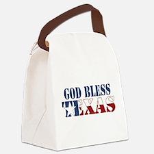 Funny Dallas cowboy Canvas Lunch Bag