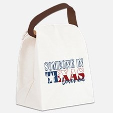 Texas Canvas Lunch Bag