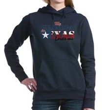 My Grandpa in TX Women's Hooded Sweatshirt