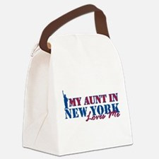My Aunt in NY Canvas Lunch Bag