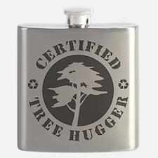 Certified Tree Hugger Flask