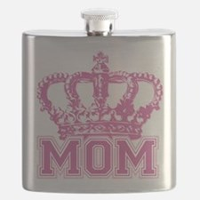 Crown Mom Flask