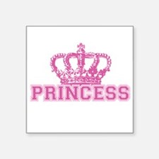 "Crown Princess Square Sticker 3"" x 3"""