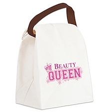 Beauty Queen Canvas Lunch Bag
