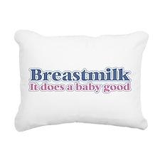 Breastmilk Rectangular Canvas Pillow