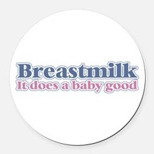Breastmilk Round Car Magnet