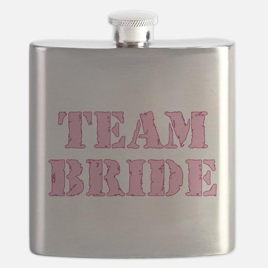 Cute The bride Flask