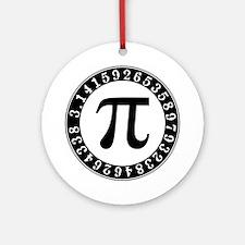 Pi symbol circle Ornament (Round)