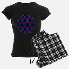Spherized Pink, Purple, Blue Pajamas