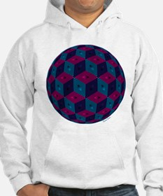 Spherized Pink, Purple, Blue and Hoodie